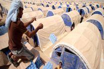 زنان، کودکان و سالخوردگان فلوجه در اردوگاه های دولت عراق