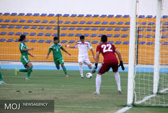 تیم فوتبال جوانان عراق در ایران اردو می زند