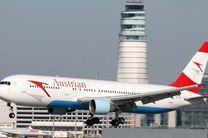 پروازهای اتریش به ایران افزایش یافت