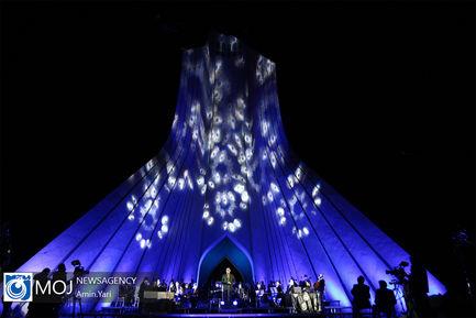 کنسرت آنلاین علیرضا قربانی در میدان آزادی تهران