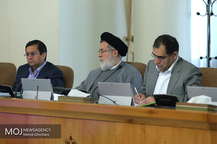 جلسه هیات دولت - ۲۴ مرداد ۱۳۹۷