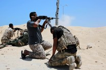 حشد شعبی مواضع تروریست های داعش را هدف قرار داد