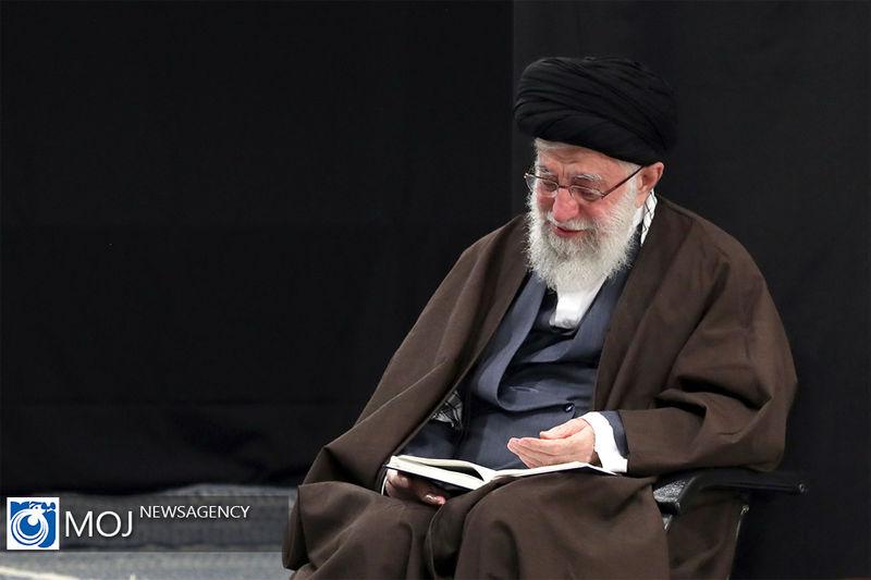 برگزاری مراسم عزاداری رحلت رسول اکرم(ص) و شهادت امام حسن(ع) با حضور رهبر انقلاب