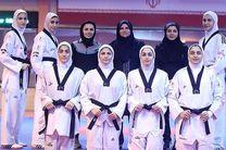 ترکیب تیم تکواندوی دختران ایران اعلام شد