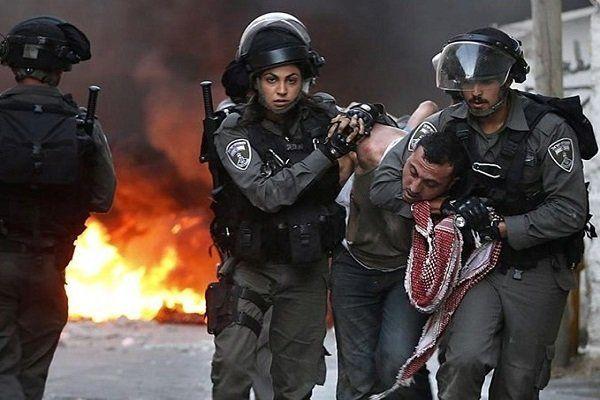 دستگیری بیش از ۵۰ فلسطینی توسط نظامیان رژیم صهیونیستی