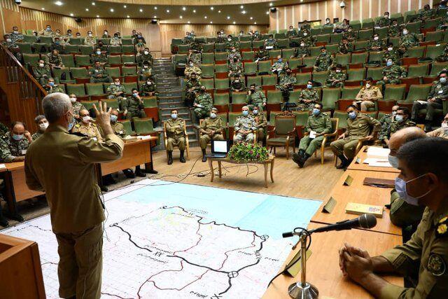 رزمایش تاکتیکی و پنج روزه ذوالفقار در دانشگاه دافوس ارتش آغاز شد