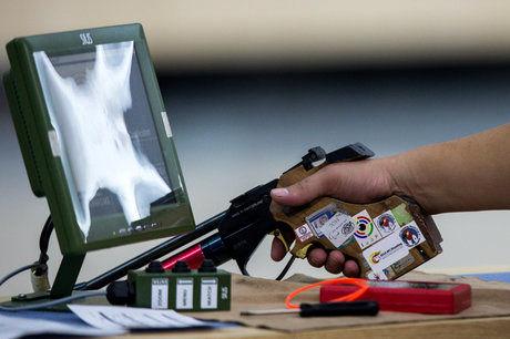 چهارمی تیم تفنگ سه وضعیت پسران در تورنمنت بین المللی آلمان