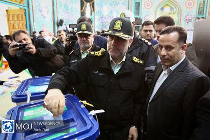 انتخابات یازدهمین دوره مجلس شورای اسلامی در حسینیه ارشاد
