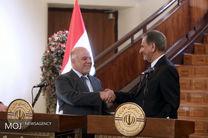 مراسم استقبال رسمی از نخست وزیر عراق