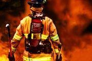 وقوع آتش سوزی در بازار بزرگ تبریز