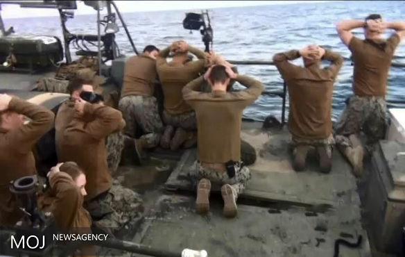 چهار ملوان آمریکایی دستگیر شده در ایران توبیخ شدند