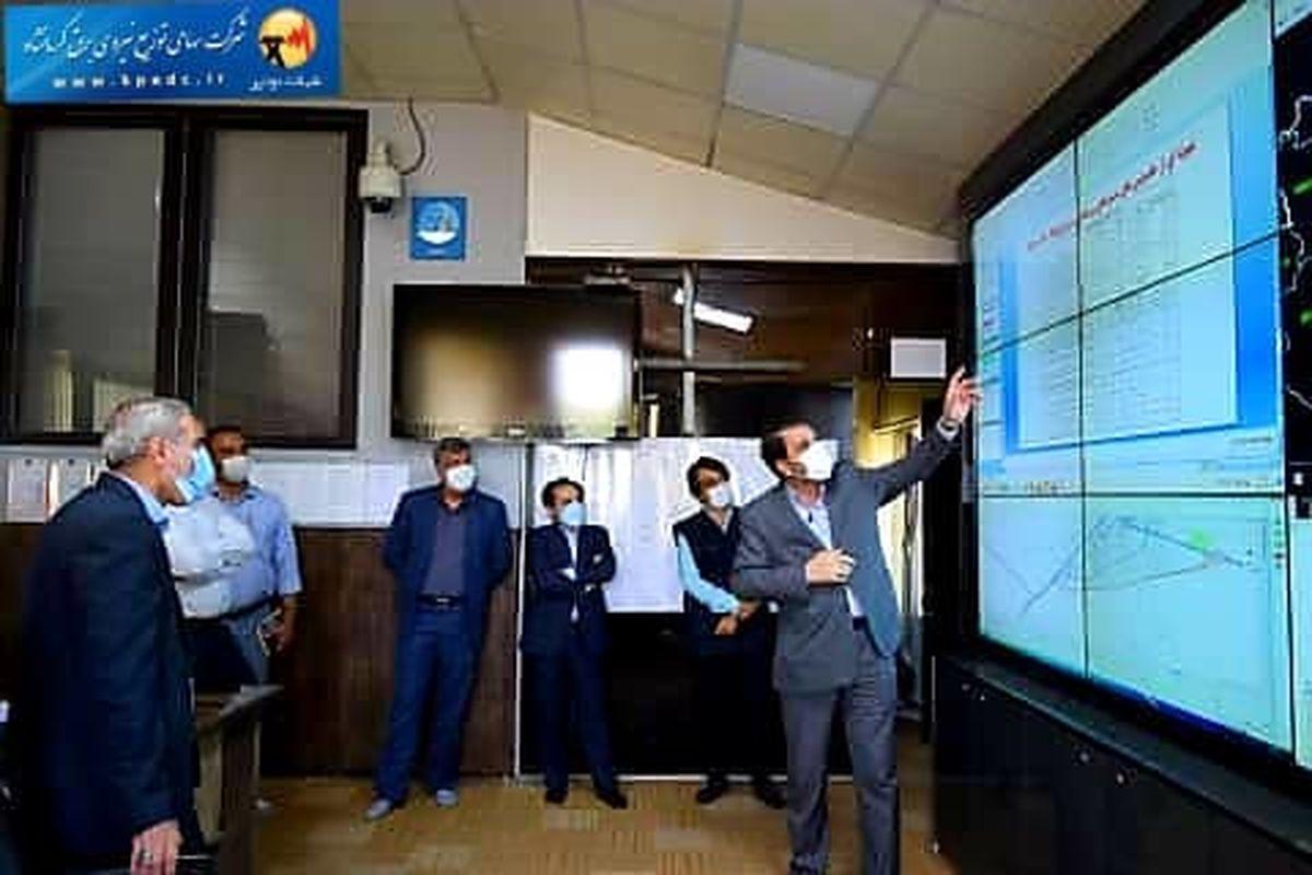 حضور فرماندار در شرکت توزیع نیروی برق استان کرمانشاه