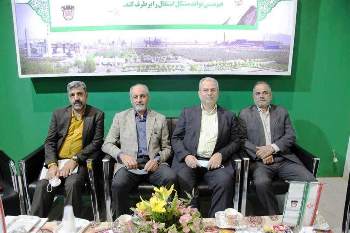 ذوب آهن اصفهان و فولاد مبارکه می توانند همکاری های مشترک بسیاری داشته باشند