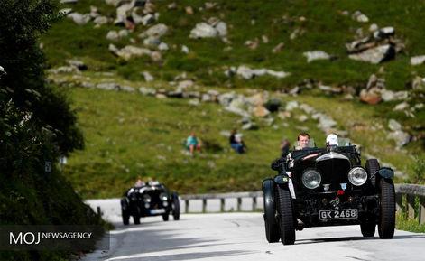 تجمع ماشین کلاسیک در آلپ اتریش
