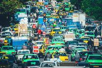وضعیت ترافیکی معابر تهران در 15 دی ماه