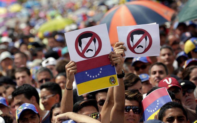 تداوم اعتراضات در ونزوئلا