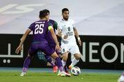 نتیجه بازی الشرطه عراق و استقلال در نیمه نخست