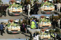 مراسم تشییع و بدرقه سومین شهید مدافع سلامت در استان ایلام برگزار شد