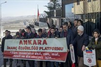تظاهرات مردم ترکیه در حمایت از مادورو