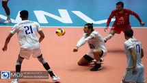 پخش زنده بازی والیبال ایران و صربستان از شبکه سه سیما