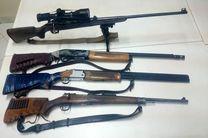 دستگیری ۵ شکارچی غیرمجاز در چوار ایلام