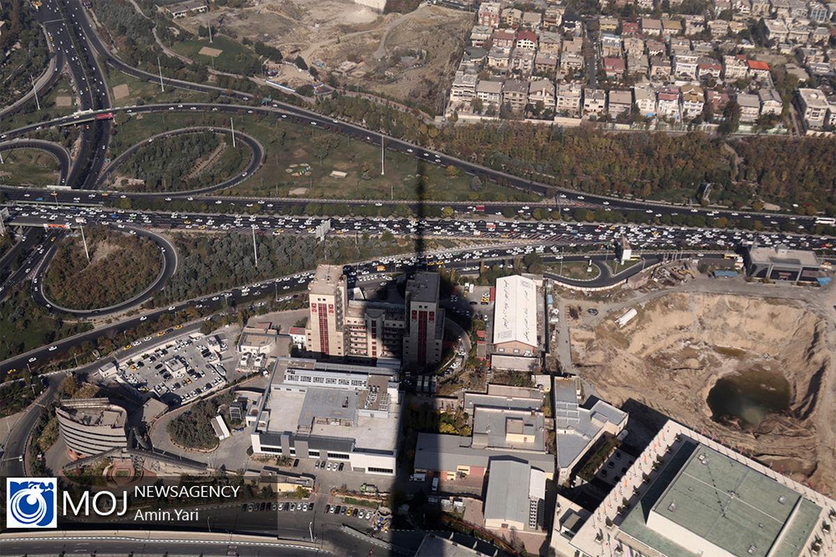 کیفیت هوای تهران در شرایط مطلوب قرار گرفت
