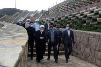 بازدید رئیس کل دادگستری استان قم از پروژهای شهری