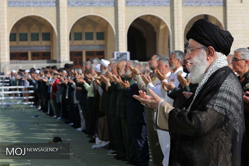 نماز عید فطر به امامت آیت الله خامنه ای اقامه می شود