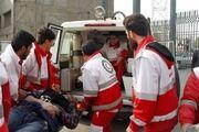 پوشش امدادی هلال احمر به 77  مورد حادثه در اصفهان