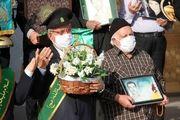 آئین بازگشایی صحنهای مسجد مقدس جمکران برگزار شد