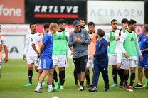 دومین جلسه تمرینی تیم ملی فوتبال ایران در استانبول برگزار شد