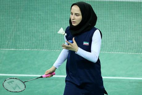 قهرمانی آقایی در اولین مرحله بدمینتون رنکینگ ایران