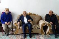 عیادت استاندار و مدیر کل بنیاد شهید مازندران از دو ایثارگر ساروی