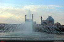 کیفیت هوای اصفهان ناسالم برای گروههای حساس / شاخص کیفی هوا 123