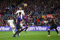 نتیجه بازی بارسلونا و رئال مادرید/ پیروزی پرگل بارسلونا مقابل رئال مادرید