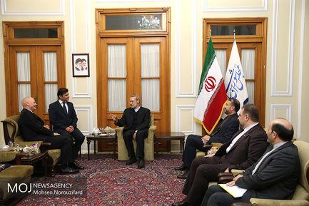 دیدار سفیر آلمان با رییس مجلس شورای اسلامی