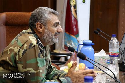 نشست خبری فرمانده ارشد نظامی آجا در غرب کشور