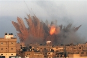 شنیده شدن صدای انفجار در جنوب نوار غزه