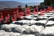 کشف 25 تن برنج قاچاق در میناب