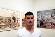 تشرف قهرمان جودو مجارستان به حرم مطهر رضوی