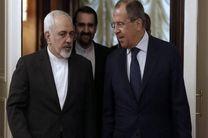 ظریف با همتای روس خود دیدار کرد