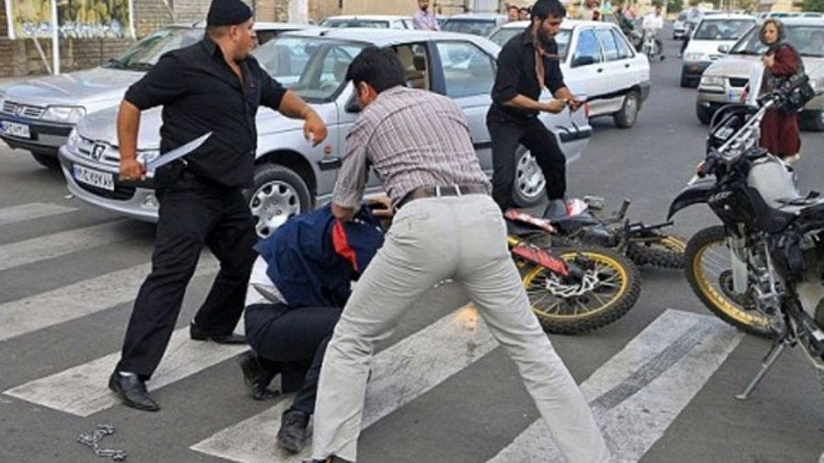 """دستگیری ۳ عامل زورگیری و قمه کشی در آزاد راه """"تهران – شمال"""""""