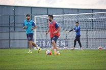 آخرین تمرین تیم فوتبال ریزه اسپور در ترکیه برگزار شد