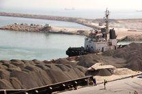 صادرات نخستین محموله سنگ گابرو از بندرلنگه به قطر