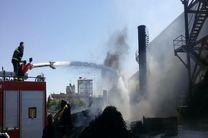 جزئیات آتشسوزی گسترده در شرکت میهن