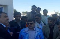 وزیر راه و شهرسازی و استاندار هرمزگان عازم شهرستان بشاگرد شدند