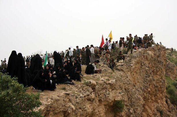 برپایی گردهمایی 32 هزار نفری در سالروز عملیات بازی دراز در کرمانشاه