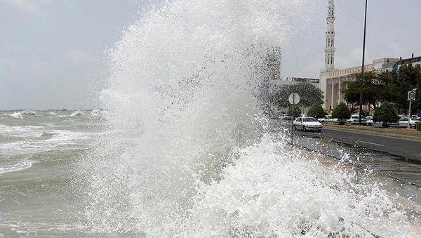 شرایط جوی در خلیج فارس و تنگه ی هرمز نامساعد است
