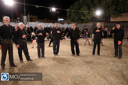 عزاداری شب ششم ماه محرم در کرمانشاه