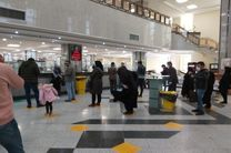 اجرای دقیق طرح فاصله گذاری اجتماعی در بانک ملی ایران